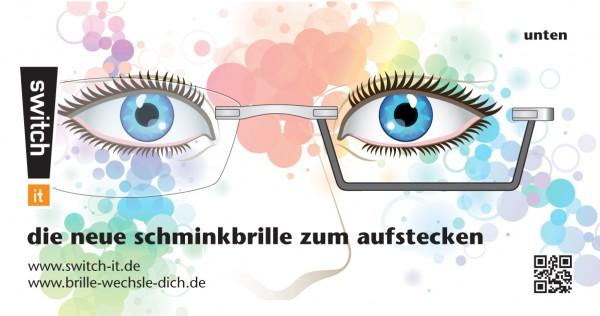 Switch It Schminkbrille zum Aufstecken